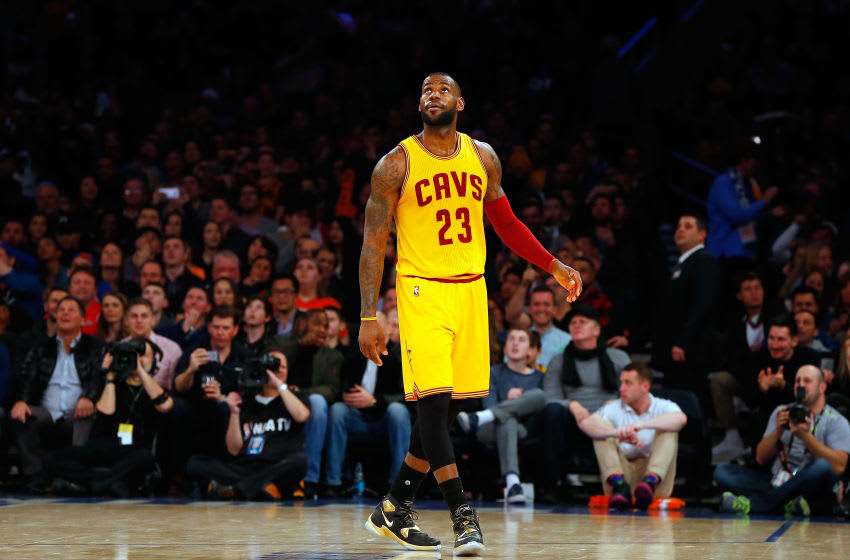 NEW YORK, NY - MARCH 26: LeBron James (Photo by Jim McIsaac/Getty Images)