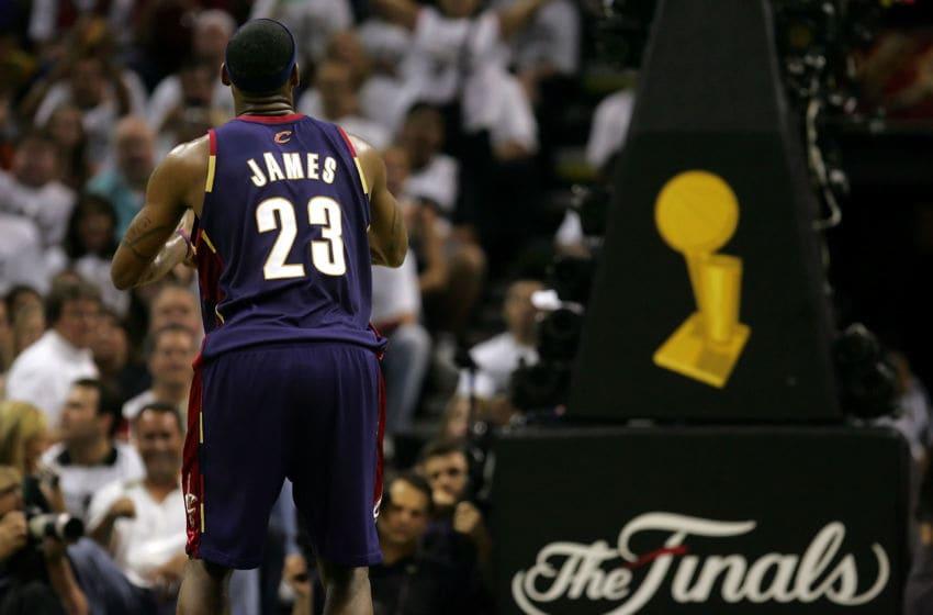 SAN ANTONIO - JUNE 07: LeBron James
