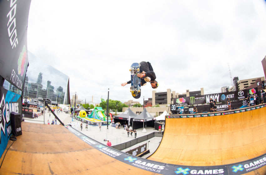 MINNEAPOLIS, MN - JULY 13: Jimmy Wilkins in action during the X Games on July 13, 2017 at U.S. Bank Stadium in Minneapolis, Minnesota. (Photo by David Berding/Icon Sportswire via Getty Images)