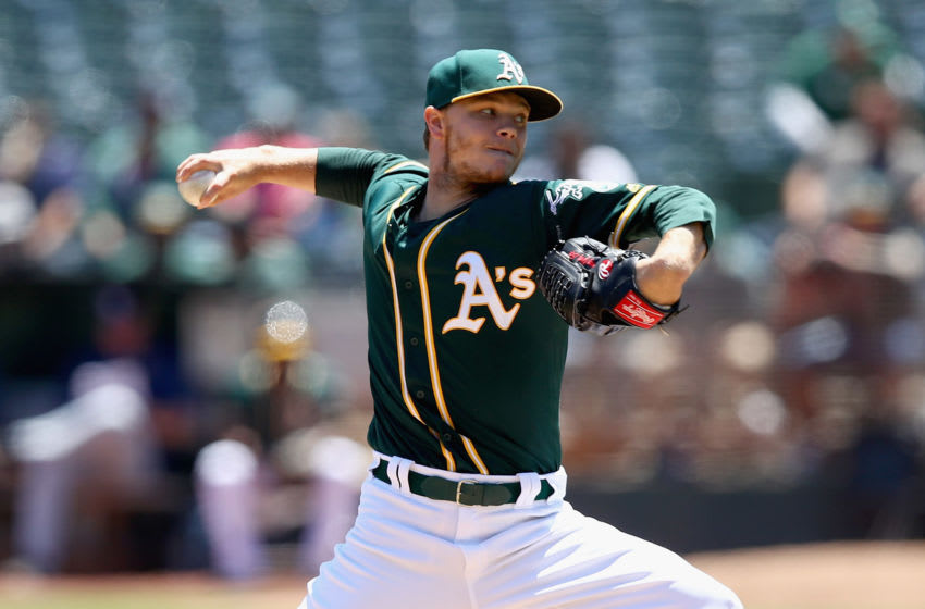 OAKLAND, CA - JULY 19: Sonny Gray (Photo by Ezra Shaw/Getty Images)