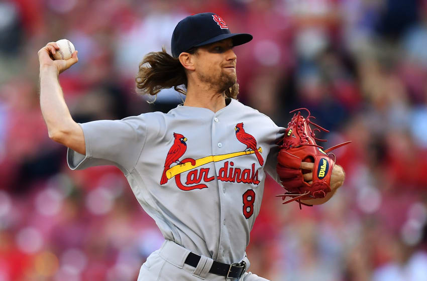 CINCINNATI, OH - AUGUST 4: Mike Leake