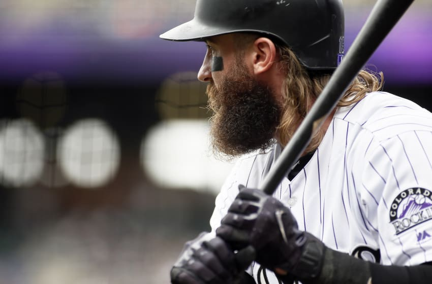 DENVER, CO - OCTOBER 01: Charlie Blackmon