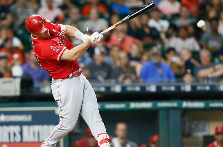 HOUSTON, TX - SEPTEMBER 22: Mike Trout
