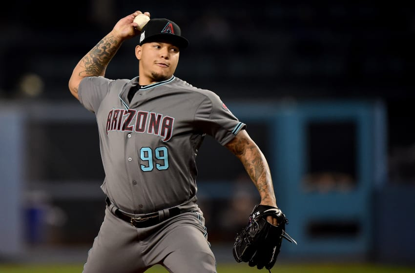 LOS ANGELES, CA - OCTOBER 06: Pitcher Taijuan Walker
