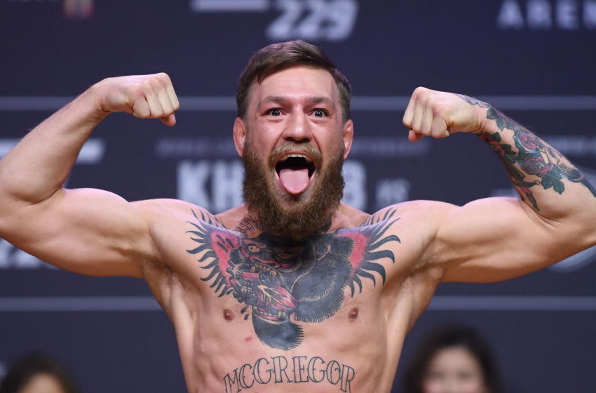 Conor McGregor (Photo By Stephen McCarthy/Sportsfile via Getty Images)