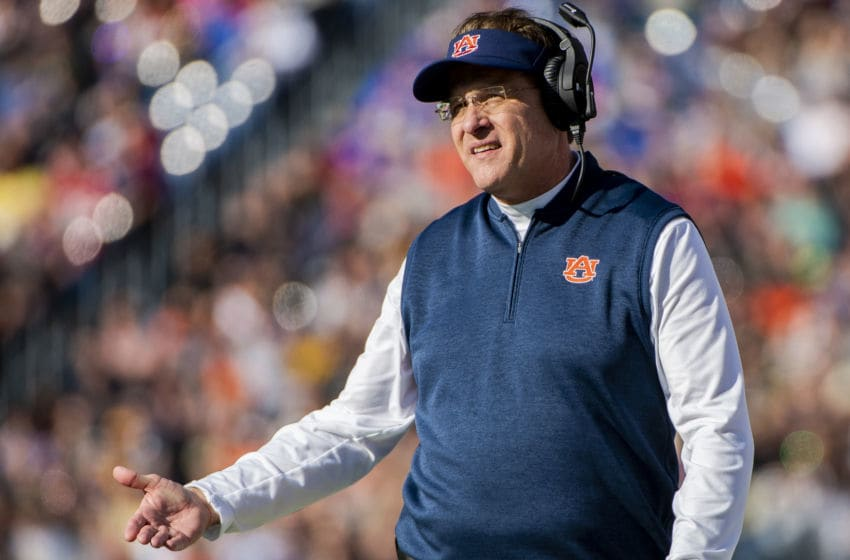 Gus Malzahn, Auburn Tigers. (Photo by Timothy Nwachukwu/Getty Images)