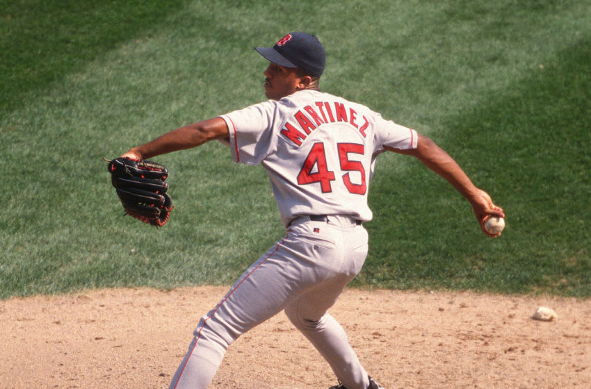Pedro Martinez, Boston Red Sox (Photo by Ron Vesely/MLB Photos via Getty Images)