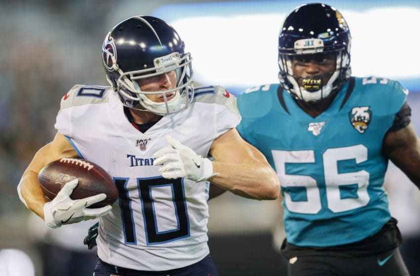 Jacksonville Jaguars, Tennessee Titans. (Photo by James Gilbert/Getty Images)