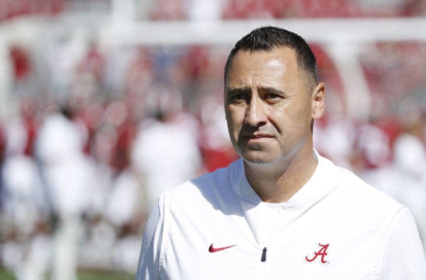 Steve Sarkisian, Alabama Crimson Tide. (Photo by Joe Robbins/Getty Images)