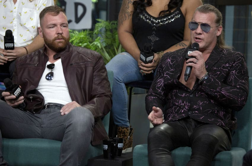 Jon Moxley and Chris Jericho (Photo by Santiago Felipe/Getty Images)