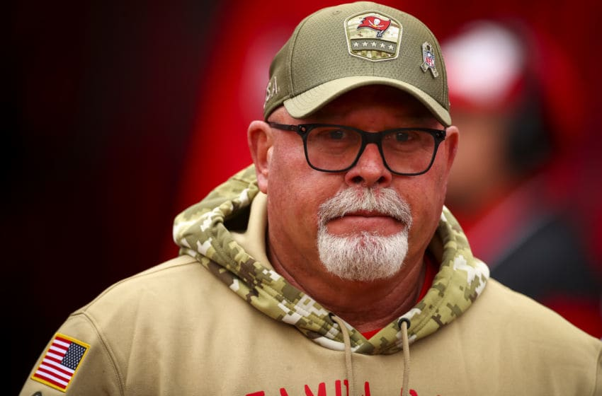 Bruce Arians, Tampa Bay Buccaneers. (Photo by Will Vragovic/Getty Images)
