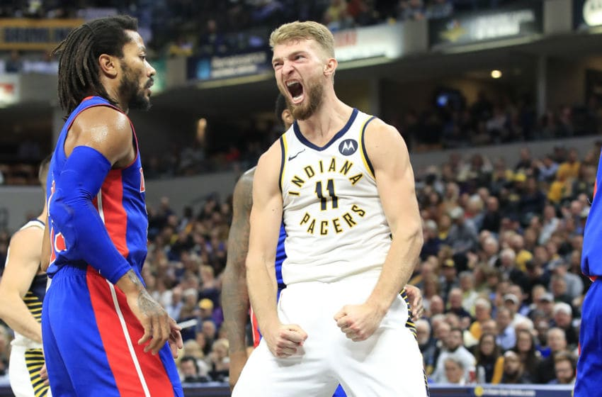 Domantas Sabonis, Indiana Pacers, (Photo by Andy Lyons/Getty Images)