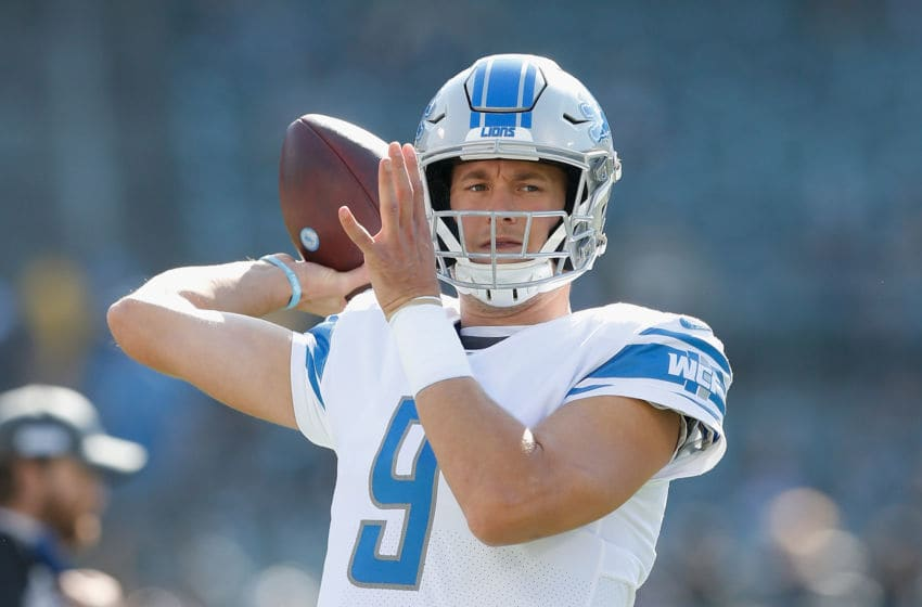 Detroit Lions, Matthew Stafford, #9 (Photo by Lachlan Cunningham/Getty Images)