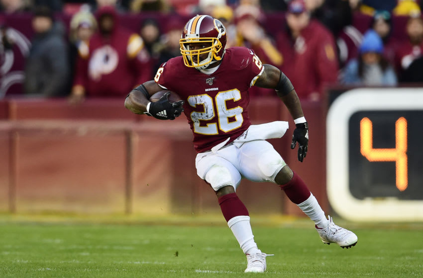 LANDOVER, MD - NOVEMBER 24: Adrian Peterson #26 of Washington (Photo by Patrick McDermott/Getty Images)