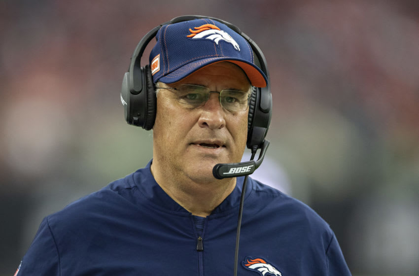 Vic Fangio, Denver Broncos. (Photo by Wesley Hitt/Getty Images)