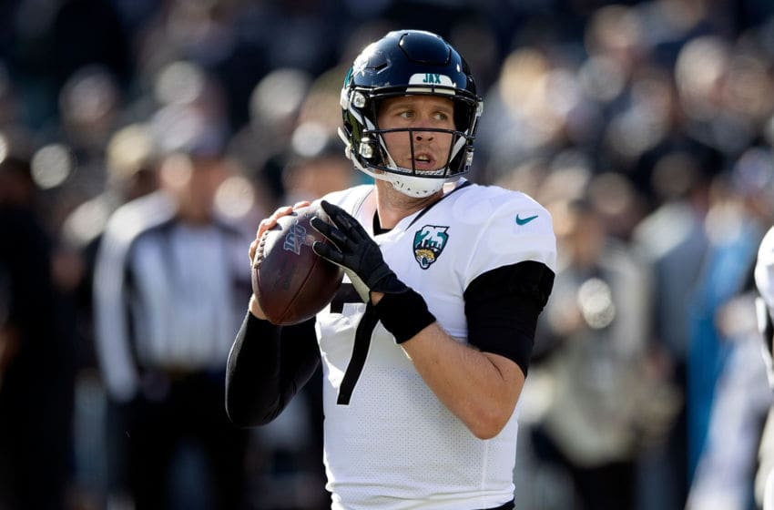 Nick Foles, Jacksonville Jaguars. (Photo by Jason O. Watson/Getty Images)