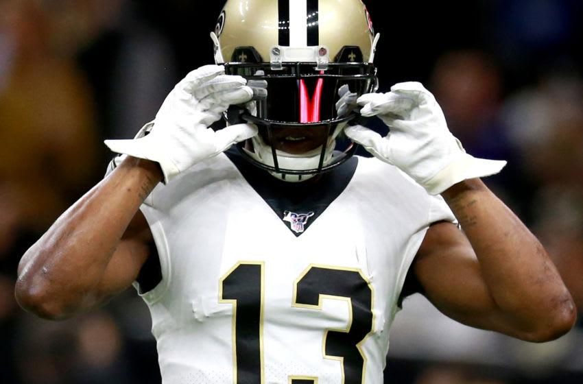 Saints receiver Michael Thomas. (Photo by Sean Gardner/Getty Images)