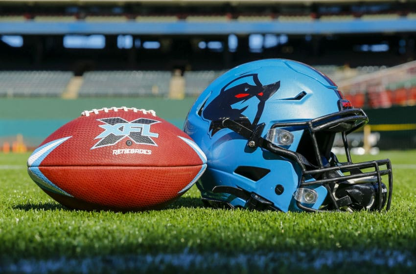 Dallas Renegades, XFL. (Photo by Matthew Pearce/Icon Sportswire via Getty Images)