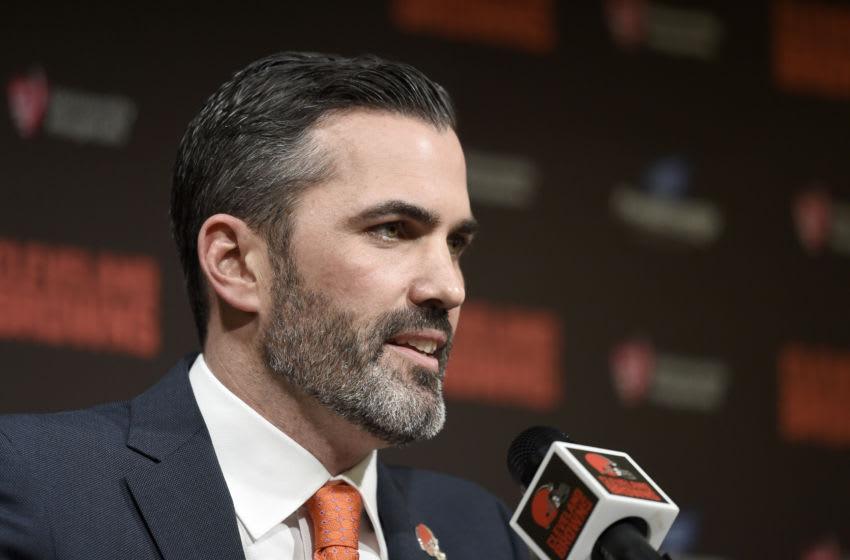 Kevin Stefanski, Cleveland Browns. (Photo by Jason Miller/Getty Images)