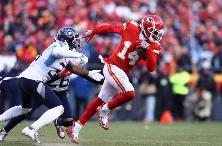 Sammy Watkins, Kansas City Chiefs. (Photo by Jamie Squire/Getty Images)