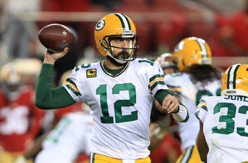Aaron Rodgers (Photo by Sean M. Haffey/Getty Images)