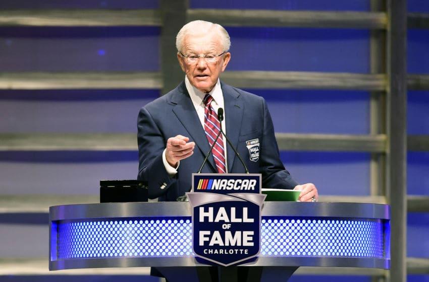 Joe Gibbs, NASCAR Hall of Fame. (Photo by Jared C. Tilton/Getty Images)