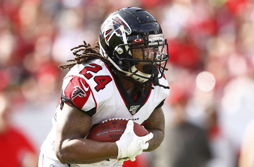Devonta Freeman, Atlanta Falcons. (Photo by Michael Reaves/Getty Images)