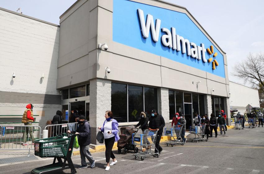 Walmart. (Photo by Al Bello/Getty Images)