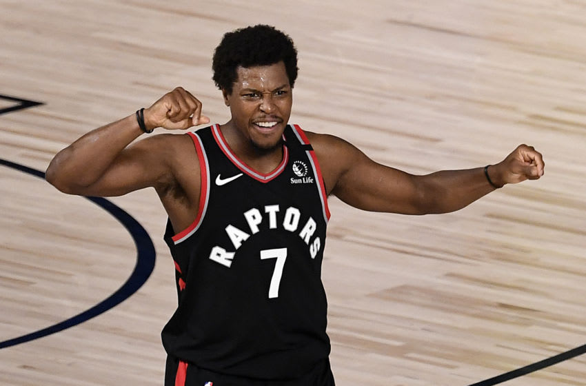 LAKE BUENA VISTA, FLORIDA - SEPTEMBER 03: Kyle Lowry #7 of the Toronto Raptors (Photo by Douglas P. DeFelice/Getty Images)