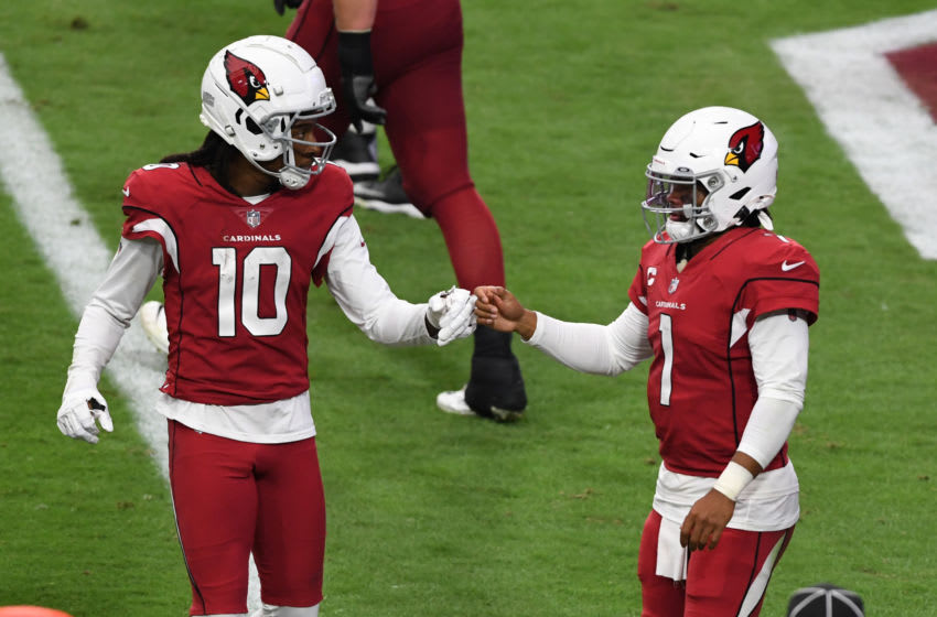 DeAndre Hopkins #10 of the Arizona Cardinals (Photo by Norm Hall/Getty Images)