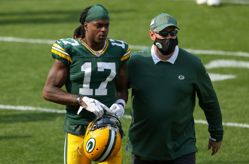 Davante Adams, Green Bay Packers. (Photo by Dylan Buell/Getty Images)