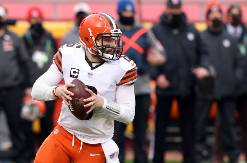 Baker Mayfield, Cleveland Browns. (Photo by Jamie Squire/Getty Images)