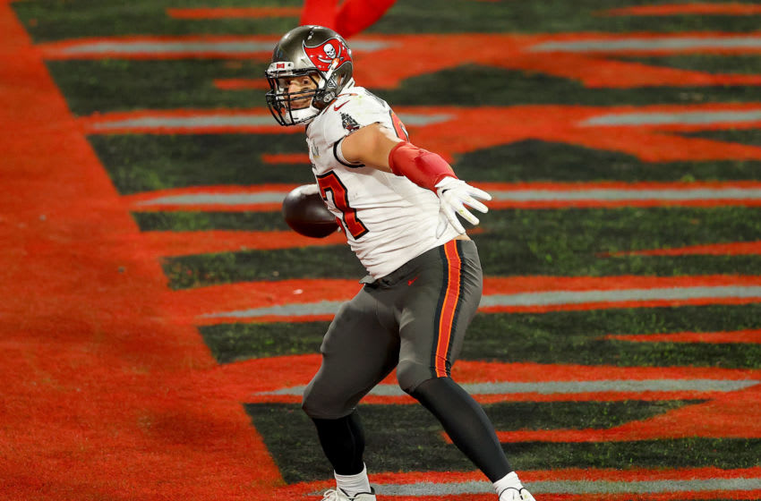 Rob Gronkowski #87 of the Tampa Bay Buccaneers (Photo by Kevin C. Cox/Getty Images)