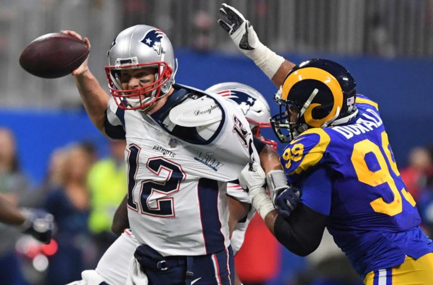 fantasy football: ATLANTA, GA - FEBRUARY 3: Aaron Donald