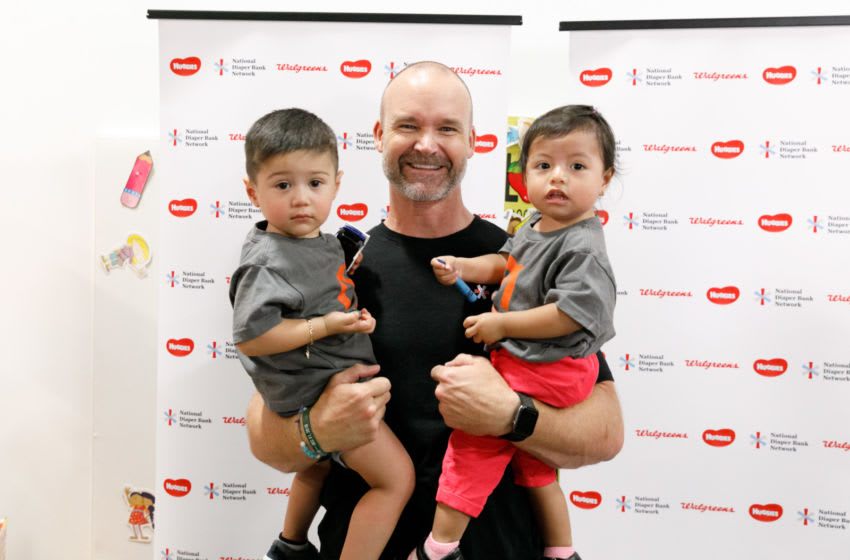 David Ross, Chicago Cubs. (Photo by Jeff Schear/Getty Images for Huggies)