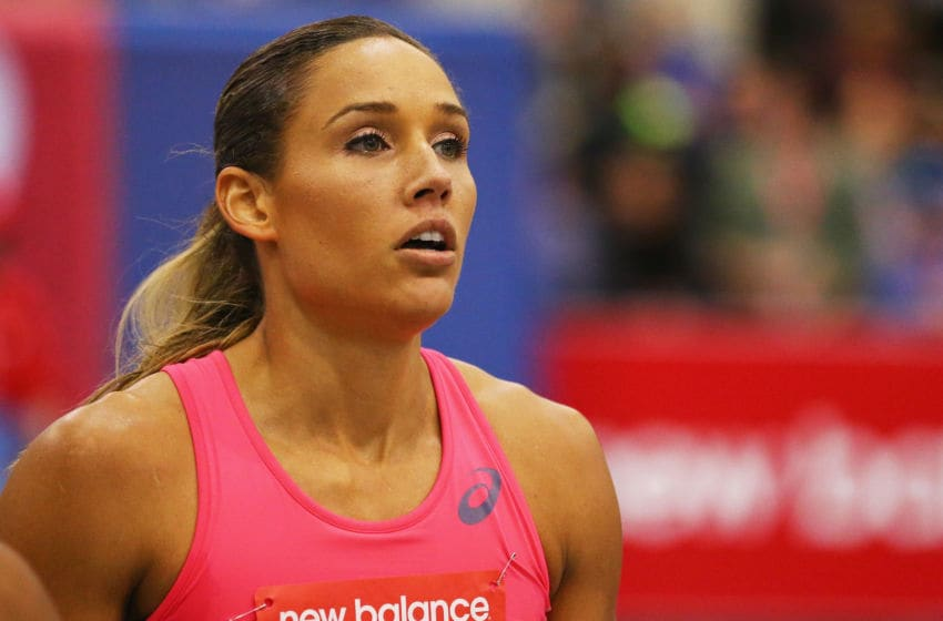 Lolo Jones. (Photo by Maddie Meyer/Getty Images)
