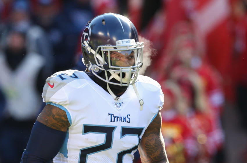 Derrick Henry, Tennessee Titans. (Photo by Scott Winters/Icon Sportswire via Getty Images)