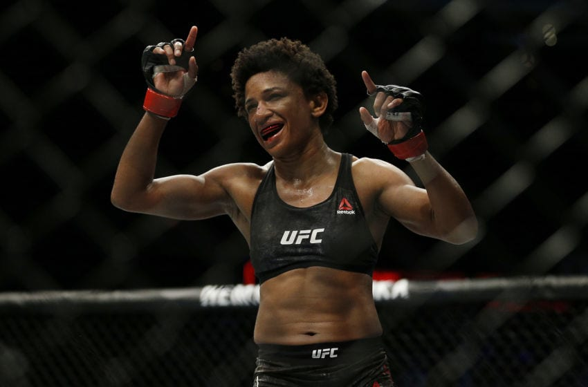 Angela Hill (Photo by Michael Reaves/Getty Images)