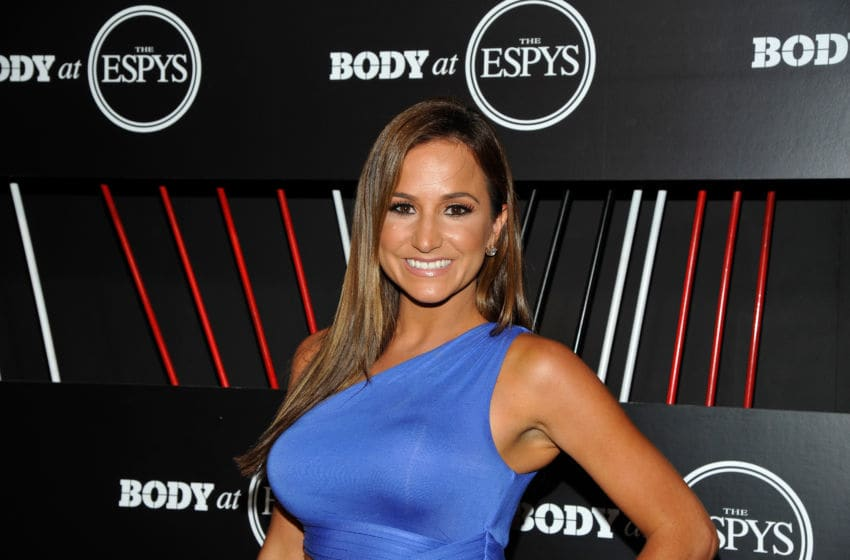 HOLLYWOOD, CA - JULY 11: ESPN commenator Dianna Russini at BODY at ESPYS at Avalon on July 11, 2017 in Hollywood, California. (Photo by John Sciulli/Getty Images for ESPN)