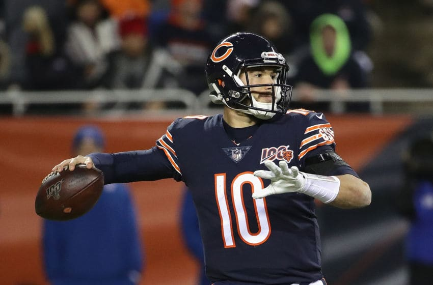 Mitchell Trubisky #10 of the Chicago Bears (Photo by Jonathan Daniel/Getty Images)