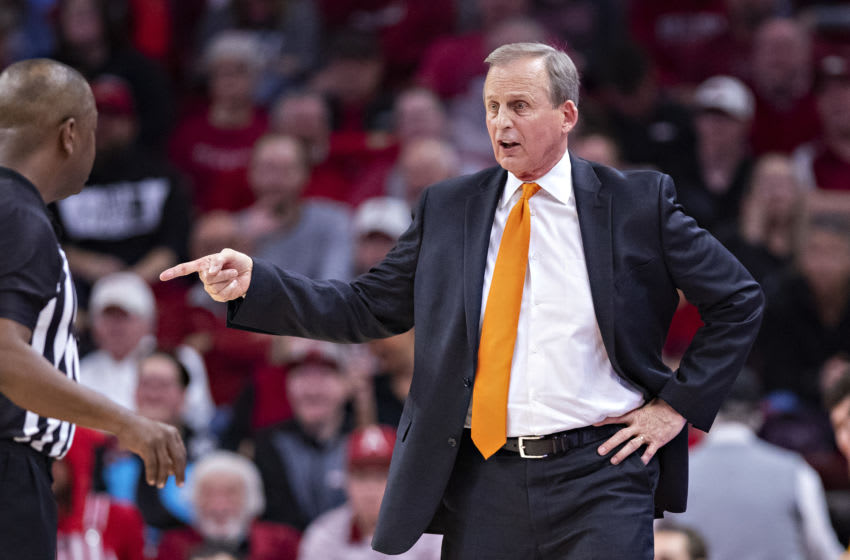 Rick Barnes, Tennessee basketball coach. (Photo by Wesley Hitt/Getty Images)