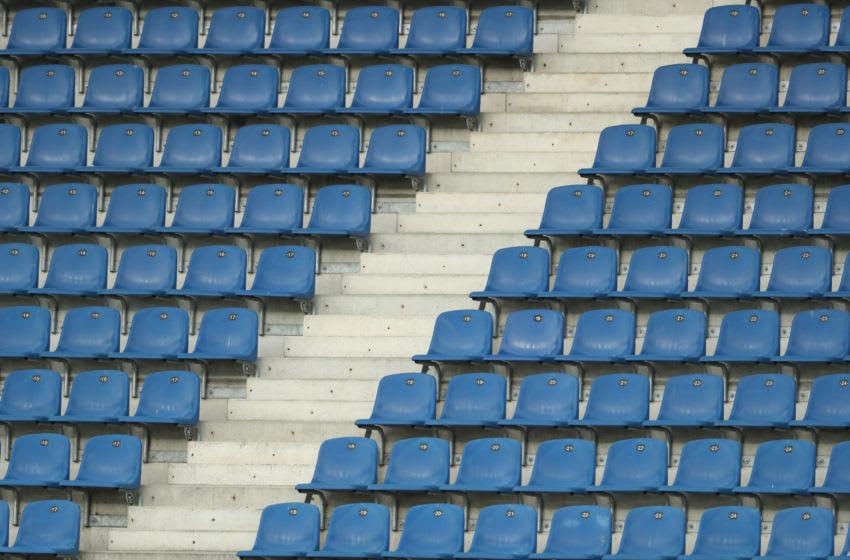 Empty seats (Photo by Friso Gentsch/Pool via Getty Images )