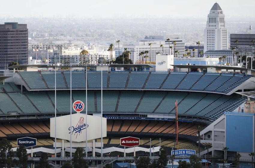 Dodger Stadium (Photo by Mario Tama/Getty Images)