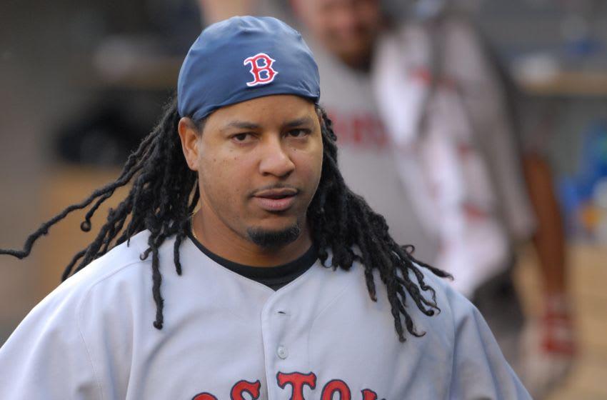 Manny Ramirez, Boston Red Sox. (Photo by Mark Cunningham/MLB Photos via Getty Images)