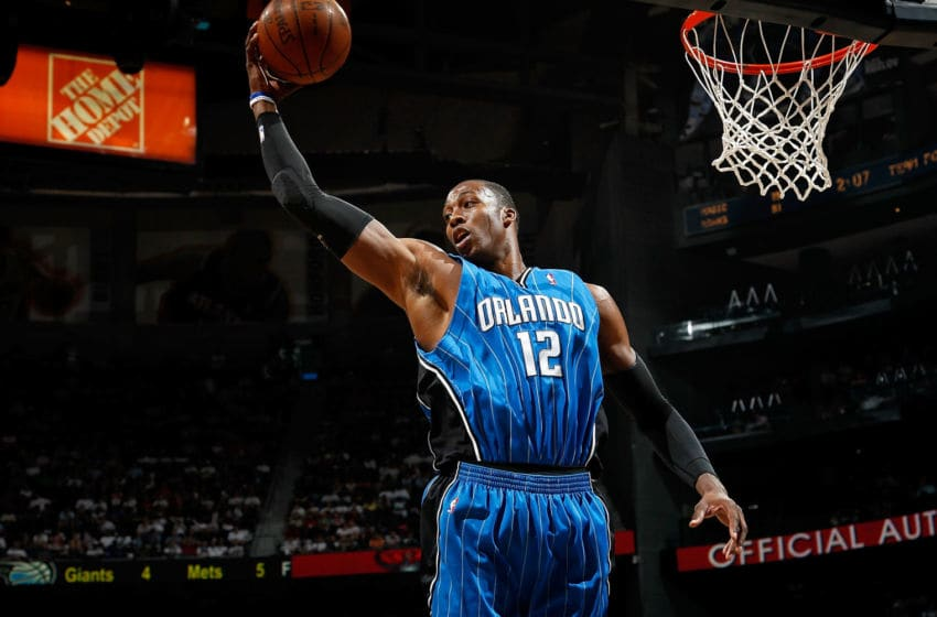 Dwight Howard, #12, Orlando Magic, (Photo by Kevin C. Cox/Getty Images)