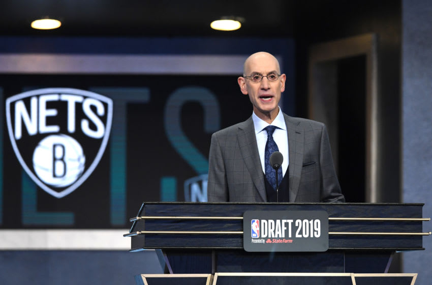 Adam Silver, NBA Draft, (Photo by Sarah Stier/Getty Images)