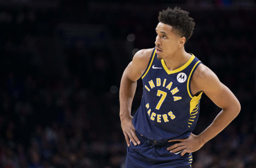 Malcolm Brogdon, #7, Indiana Pacers, (Photo by Mitchell Leff/Getty Images)