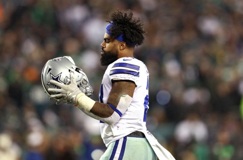 Ezekiel Elliott, Dallas Cowboys. (Photo by Patrick Smith/Getty Images)