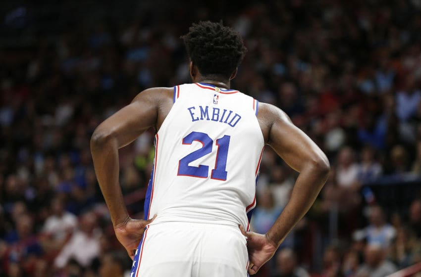 Joel Embiid (Photo by Michael Reaves/Getty Images)