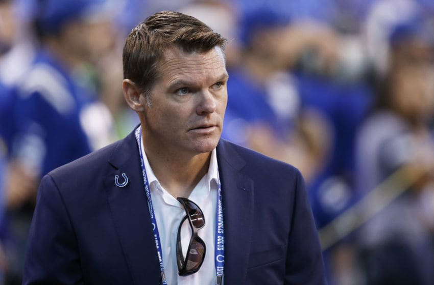 Indianapolis Colts general manager Chris Ballard. (Photo by Joe Robbins/Getty Images)